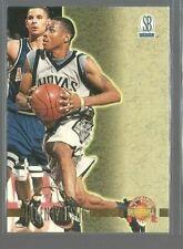 1996 Score Board Autographed BK #1 Allen Iverson (ref 71733)