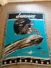 Jacksonville Jaguars Hand-sewn Quilted Blanket