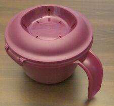 Tupperware Junior ReisMeister 550 ml Reiskocher für Mikrowelle Lila Neu OVP