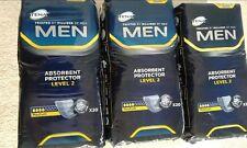 TENA Men Livello 2 - 3 confezioni da 20 per incontinenza (totale 60 Pad) SIGILLATO