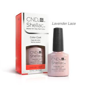 CND Shellac UV Gel Nail Polish - Lavender Lace 0.25oz