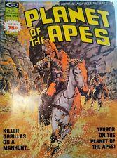 Planet Of The Apes #14 Marvel Curtis Magazine 1975 Ploog Gorillas Rare