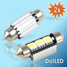 2x CanBUS LED Kennzeichenbeleuchtung C5W Nummernschildbeleuchtung 36mm Soffitte