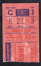 1984 Rod Stewart concert ticket stub Madison Square Garden NY Camouflage Tour