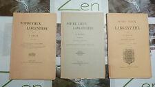NOTRE VIEUX LARGENTIERE / A. MAZON / N° 2 3 5  / 1900 - 1902
