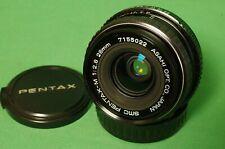 PENTAX SMC Pentax M 28mm f/2.8 wide angle lens Full Frame SLR or Mirrorless