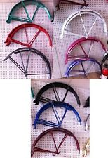 """Bicycle Balloon Fender Set Matching-Color Struts for 26"""" Beach Cruiser Bikes"""