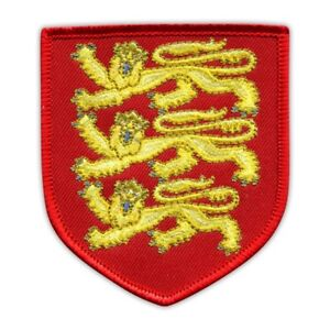 Royal Arms of England Embroidered PATCH/BADGE