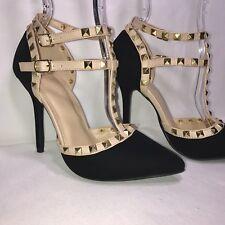 Shoes Black Wild Diva Lounge Stiletto Heels Size 8.5