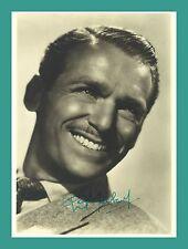 Douglas Fairbanks jr. | attore | ORIGINALE-Autografo su Star PHOTO