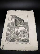 SOUFRE 3 Planches Originales COMPLET Encyclopédie Méthodique POUDRE A CANON 1785