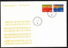 Norway 1998 Fdc Christmas Issue