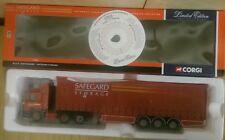 Corgi Modern Truck Man F2000 Curtainside Safeguard Storage 75805