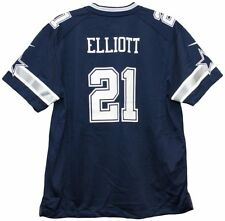 412a736300f Ezekiel Elliott Dallas Cowboys Silk Screened Nike Game Day Jersey Youth  Large