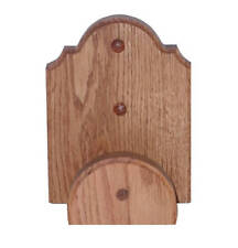 Oak Wooden Bridle Rack - Stable Hanger - Equestrian Tack Wall Hook