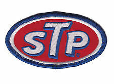 STP embroidered cloth patch.  D030203