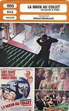Fiche Cinéma. Cinema Card. La main au collet/To catch a thief (USA) 1955