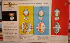 N° 6000 / affiche d'epoque RENAULT  fregate transfluide 1957