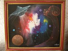 UFO DREAM 1988 Big Bang Origin Outer Space Extraterrestial Jewel by JudeThegenus