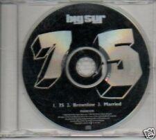 (O822) Big Sur, 75 / Brownlow / Married - DJ CD