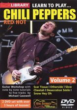 LEARN TO PLAY RED HOT CHILI PEPPERS RHCP VOL 2 LICK LIBRARY DVD TUITIONAL MUSIC