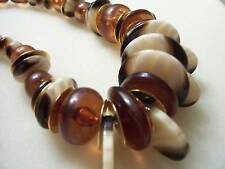 "MON BIJOUX MADE IN ITALY necklace,excellent condition, ,22""long,"