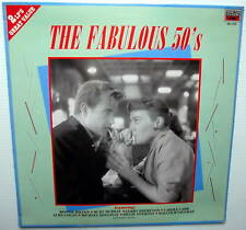 The Fabulous 50s 2 LP POPULAR ENGLISH POP MUSIC SEALED!