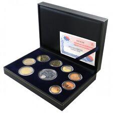 ESPAGNE Coffret 9 pièces avec médaille BE 2002