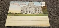 Vintage ANTIQUE Post Card PHOTOS Souvenir Folder Wilkes-Barre Pennsylvania PA