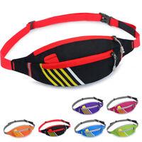 Waterproof Zip Bag Running Belt Bum Waist Pouch Fanny Pack Camping Sport Hiking