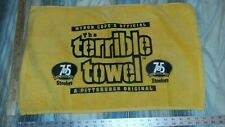 MYRON COPES OFFICIAL THE TERRIBLE TOWEL 75th SEASON GOLD EDITION