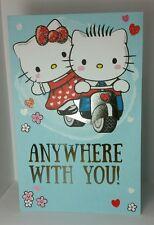 "Hello Kitty Dear Daniel Card 8.5"" tall Greeting Card Beautiful LOVE Kawaii CUTE"