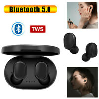 Bluetooth Wireless AirDots True TWS 5.0 Earphone Earbuds Headset Headphone USHA