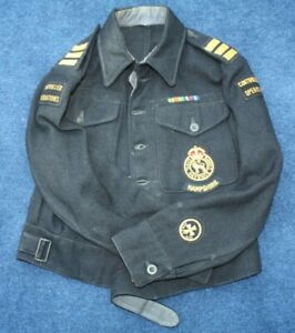 WW2 1943 Civil Defence Wardens battledress blouse 'Rescue Party' Hampshire