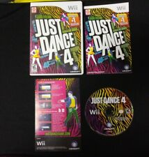 Just Dance 4 (Nintendo Wii) - Complete w/ Manual -  Tested -