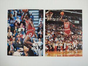 "Michael Jordan #23 Chicago Bulls Vintage 6"" Stickers"