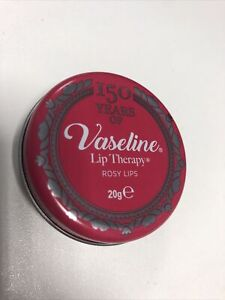 Vaseline Lip Therapy Tin - 150 Years Rosy Lips