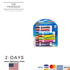 1 Pack Expo Low Odor Dry Erase Markers Chisel Tip Assorted Colors 12 Count