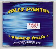 Dolly Parton Maxi-CD Peace Train - 6-track REMIX CD - written by Cat Stevens