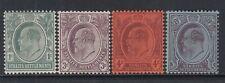 MALAYA STRAITS SETTLEMENTS SG123/6 1903-4 DEFINITIVE SET MTD MINT