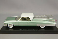 1/43 NEO Model Cadillac Superior Flower Car Hearse 1959 green metallic #.45263