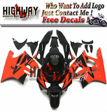 ABS Fairing Kit For Honda CBR600 F3 97 98 CBR600F Fairing Kit Bodywork Black Red