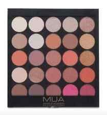 MUA Make Up 25 Shade Eyeshadow Palette Burning Embers Wine Red Autumn Brown Eye