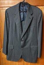 43T Oxxford Charcoal Wool 2 Piece Men's Suit Lake Forest Rare Editions Larrimors