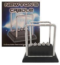 Classic Newton's Cradle Black Base Balance Balls