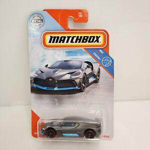 Matchbox MBX Coastal 2018 Bugatti Divo Gray