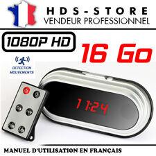 RÉVEIL CAMERA ESPION RVLHD2 FULL HD 1080P + MICRO SD 16 GO DÉTECTION VIDÉO HDMI