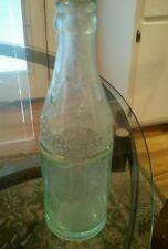 Four Sided Soda Water Bottle, property of Coca-Cola Bottling Co. Bolivar, MO