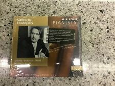 Samson Francois 1999 Great Pianists 28 Music 2x CD Brand new