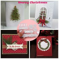 Xmas Tree Metal Cutting Dies Stencils Scrapbooking Album Paper Card DIY Crafts